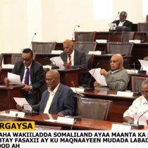 Gudaha:-Fadhiga 42 Aaad Ee Golaha Wakiilada JSL Oo Maanta Dib U Furmay Iyo Ajandayaasha Kal fadhigan Oo Loo Qaybiyay Golaha Wakiilada Somaliland.