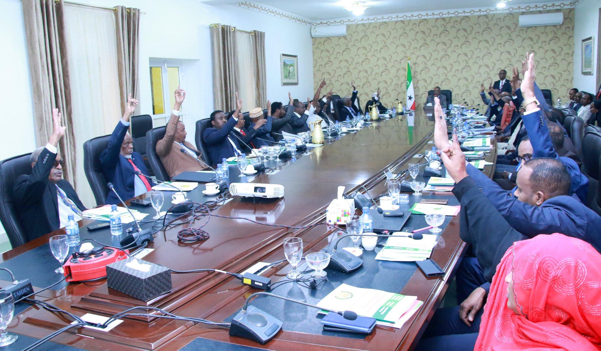 Golaha wasiirrada Jamhuuriyadda Somaliland oo Ansixiyey Oddoroska Miisaaniyad-sannadeedka 2020-ka