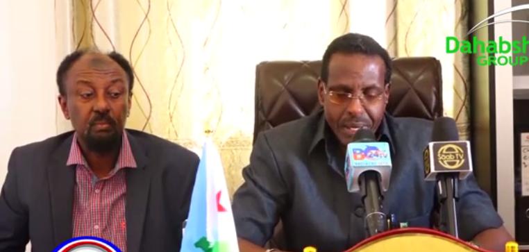 Hargeisa:-Safiirka Dalka Jabouti U Fadhiya Somalilnad Oo Hada Warbaahinta La Hadlay Iyo Arimaha Uu Ka Hadlay.