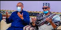 Madaxweynaha JSL & Madaxdhaqameed kulan duco iyo Dardaaran ah la yeeshay Sul .Daauud Sul. Maxamed