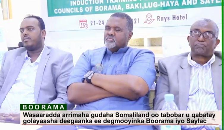 Daawo: Wasaarada arrimaha Gudaha JSL oo tabobar u qabatay G/deegaanka ee degmooyinka Boorama Iyo Saylac