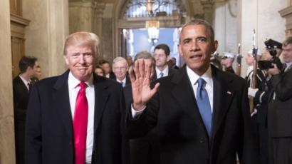 Barack Obama oo markale weeraray madaxweyne Trump