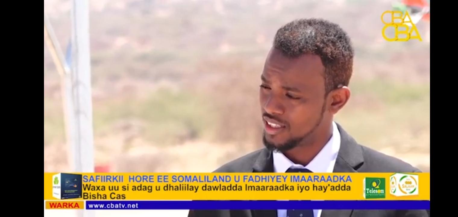 Safiirkii hore ee Somaliland ee Imaaraadka Carabta oo eedihii ugu kululaa usoo jeediyey Imaaraadka
