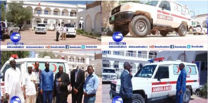 Xukuumadda Somaliland Oo Gaadhi Ambalaas Ah Ku Wareejisay Degmadda Sabawanaag.