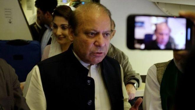 Islamabad:-Ra'isal wasaarihii hore ee Pakistan oo xabsiga loo taxaabay +Inta Lagu Xukumay.