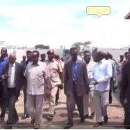Daawo:Wafti Uu Hogaaminaayo Madaxwayne Ku Xigeenka Somaliland Oo Kormeeray Mashruuca Biyo Balaadhinta Magaalada Boorama