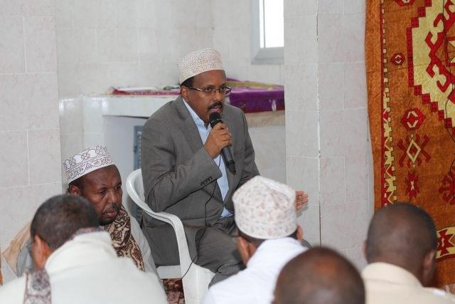 Somalia:-Madaxweyne Farmaajo Oo Mar Kale Ka Hadlay Dagaalka Tuke-raq +Muxuuse Ka Yidhi.