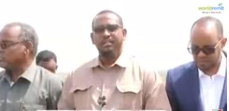 JUBALAND:- MADAXWEYNE KU XIGEENKA M GOBO0LEEDKA JUBALAND OO MASHRUUCA BIYO BALAADHINTA XADHIGA KA JAREY
