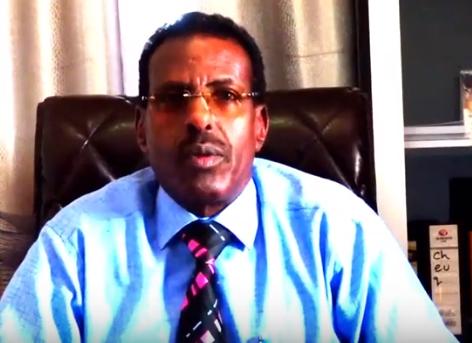 Gudaha:-Safiirka Dalka Jabouti U Fadhiya Somaliland Ayaa Fariin U Diray Muwaadinta Dalka Djabouti Ee Magaalada Hargeisa Ku Nool.