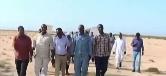 Berbera: Daawo Masuliyiinta Gobolka Saaxil oo ka warramay Socdaal Xog ogaal u noqosho ah oo ay ku mareen Degaanada Gobolka Saaxil
