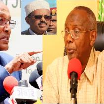 Hargeisa:-Prof. Cabdisalaan Yaasiin Oo Naqdiyay Wadahadalada Somaliland Iyo Somaliya.