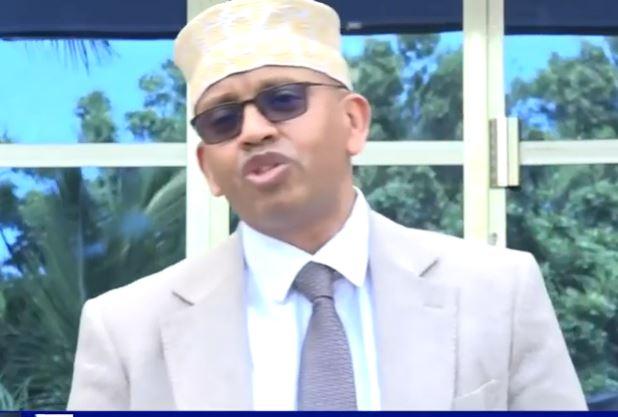 """Dowladda Soomaaliya oo sheegtay in aysan jirin Ciidamo Soomaaliyeed oo ka dagaalamay Itoobiya""""Wasiirka Warfaafinta Somalia."""