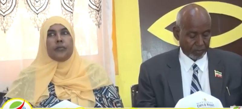 Hargeisa:-Wasaarada Shaqo Galinta Iyo Arimaha Bulshada Somaliland Oo Qabtay Shirwqeynaha Ilaalinta Xuquuqda Caruurta.