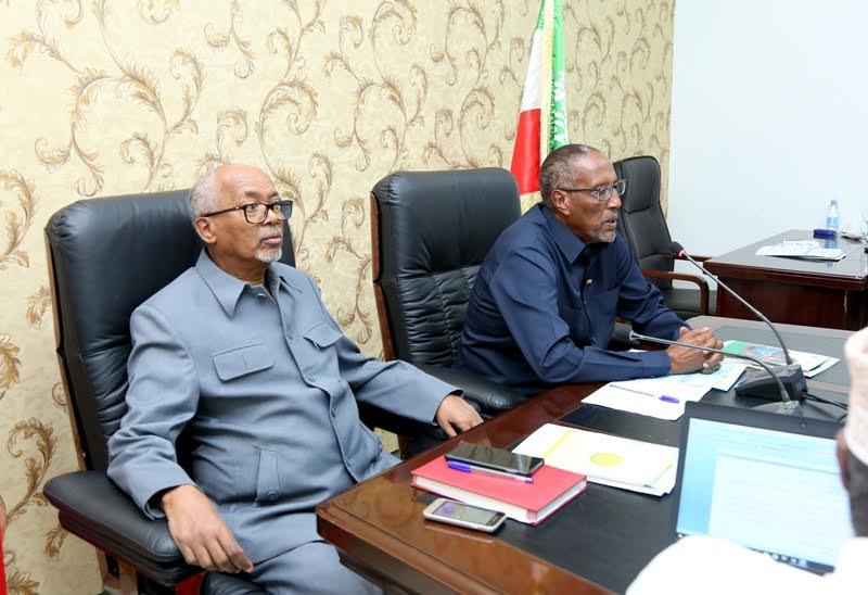 Golaha Wasiirrada Somaliland Oo Gorfeeyey Hirgelinta Nidaamka E-Government (Somaliland E-government system)