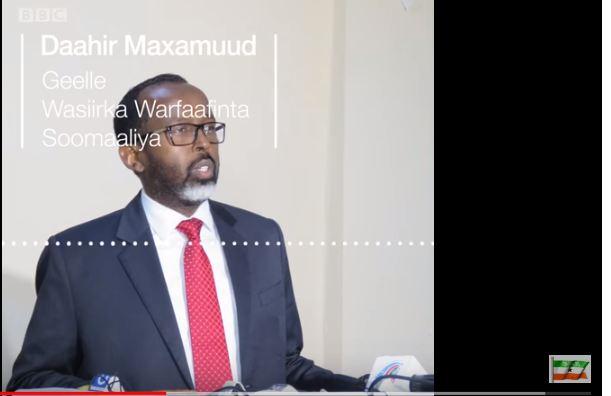 Deg Deg:- Dawlada Somaliya Oo Ku Gacan Saydhay Dawlada Itobia