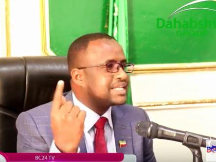 Hargeisa:-Xoghayaha Xisbiga Ucid Oo Ka Jawaabay Hadlo Ka Soo Yeedhay Safiirka Somaliland U Fadhiya Dalka Jabouti.