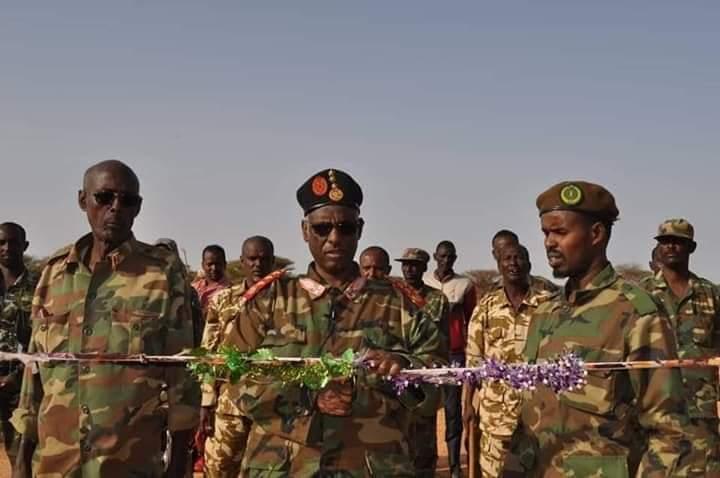 Ciimado Ka tirsan Oo Somaliland Oo Fadhiiso Ciidan Ka Samaystay Duleedka Magaalada Dhahar.