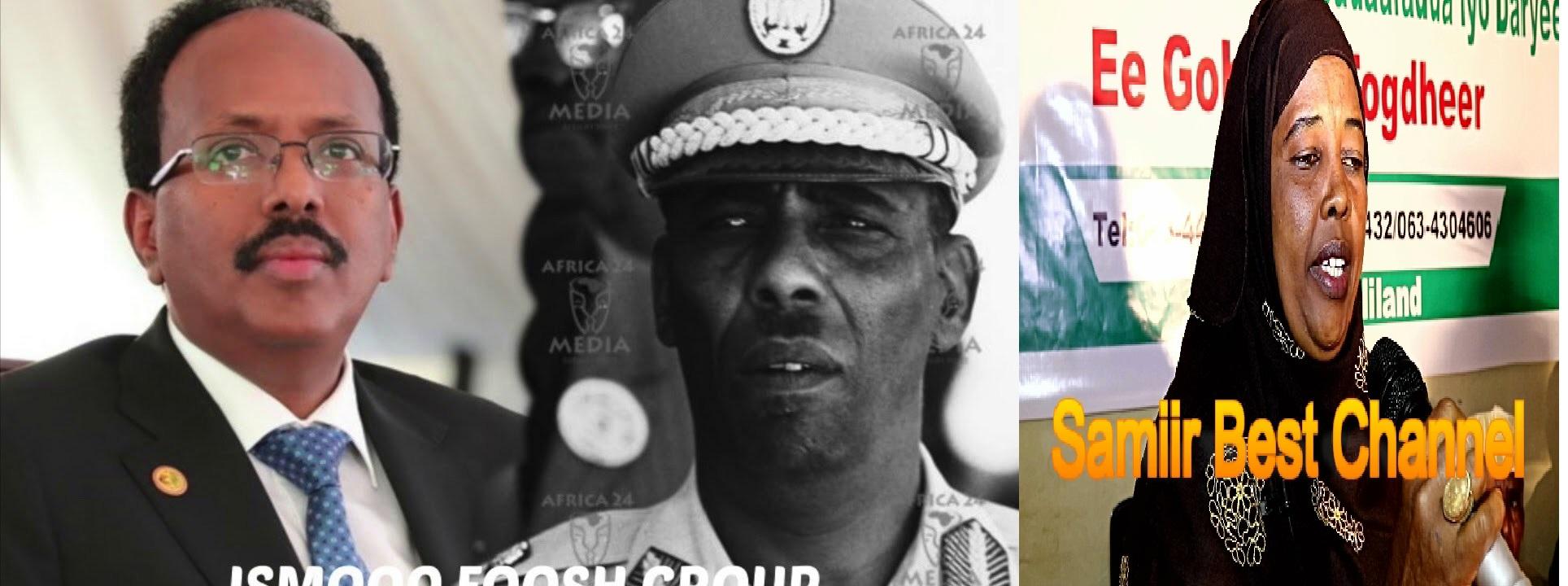 Gudaha:-Hooyo Reer Somaliland Oo Farmaajo Gabay Ku Karbaashtay