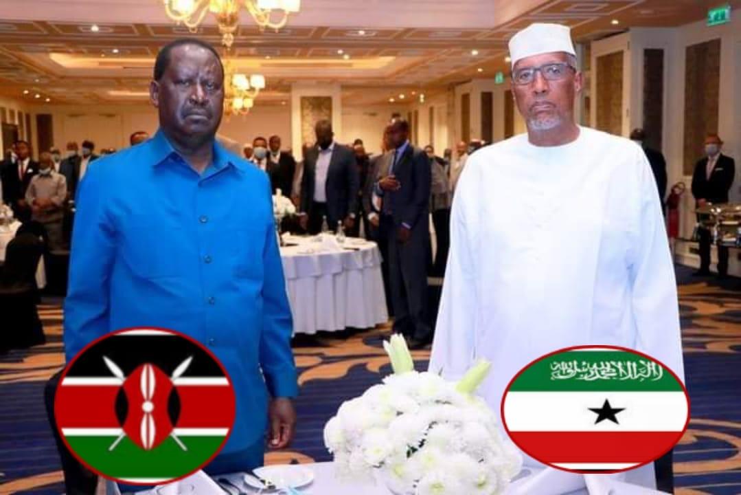 Wafti Dawlada Kenya Ka Socda Oo ka Baaqday Safar ay Somaliland Ku Iman Lahaayen+U Jeedka Safarkooda.