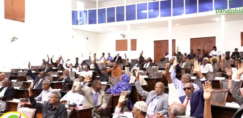 Gudaha:-Qaabkii Ay Saaka Golaha Wakiilada Ee Somaliland Oo Ansixiyay Miisaaniyad Sanadeedka 2020