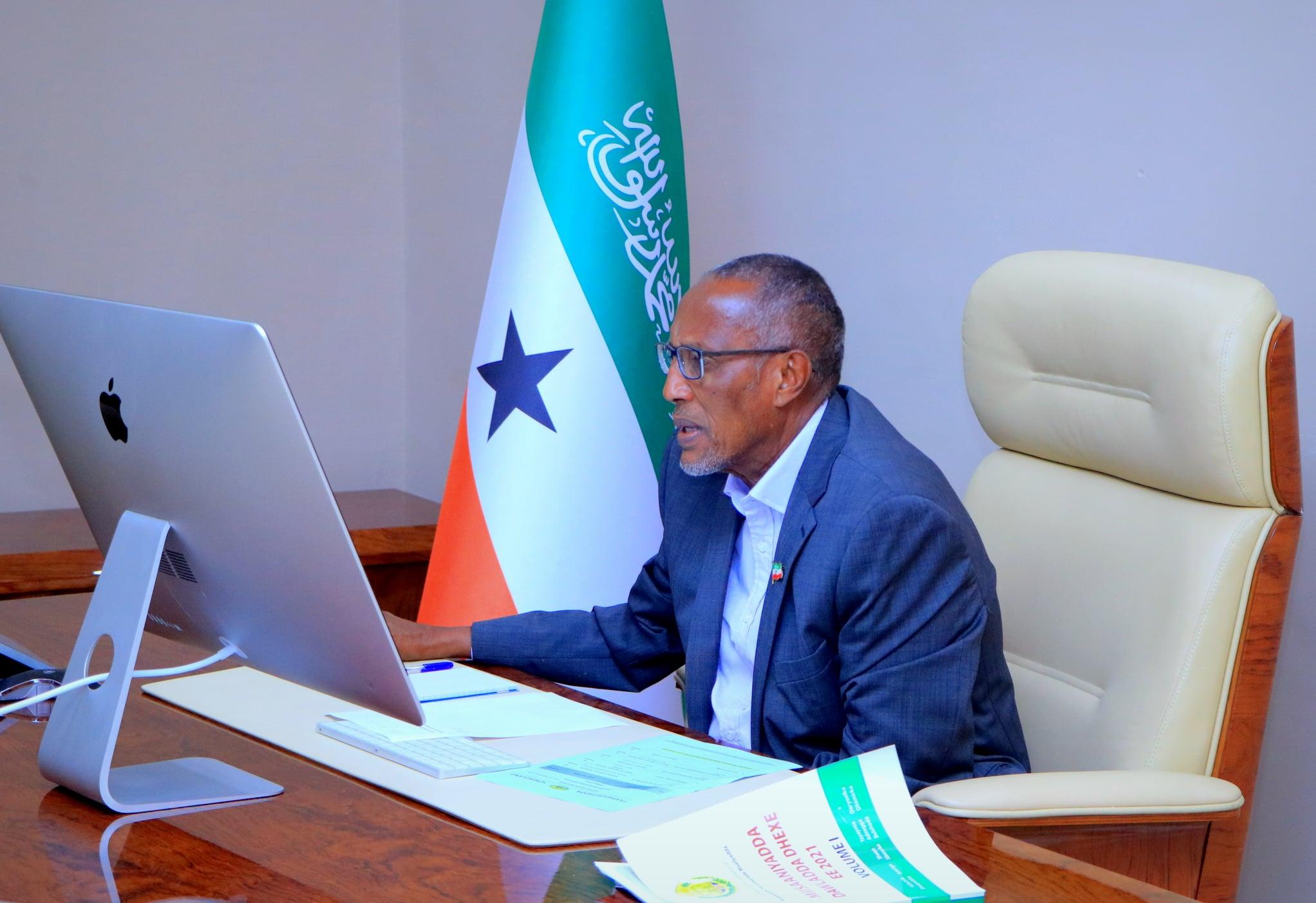 Golaha Wasiirrada Somaliland Oo La Horkeenay Miisaaniyad Sannadeedka 2021.