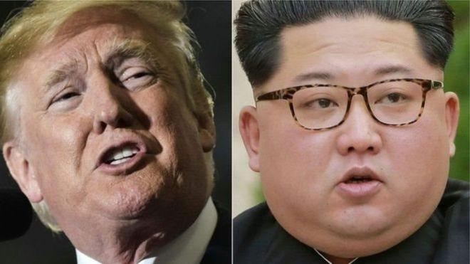 Caalamka:-Saraakiil Maraykan Ah Oo Kuuriyada Woqooyi u jooga dardar gelinta kulankii Trump iyo Kim.