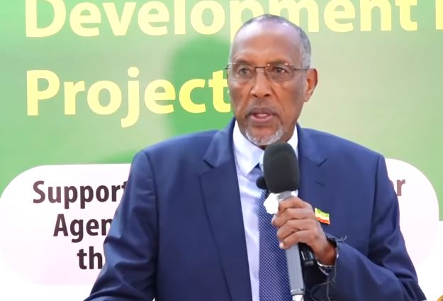 Hargeysa: Daawo Madaxweyne Muuse Biixi ayaa maanta si rasmi ah u daah-furay wejiga labaad ee Mashruuca SDF2