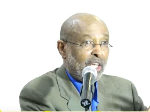 Hargeisa:-Proff Axmed Ismail Samatar Ayaa Markale Goob Fagaare Ah Kaga Hadlay Arimo Ku Saabsan Xukumad Biixi.