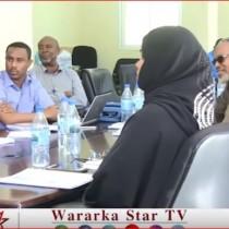 Hargaysa:-Wasiirka Biyaha Somaliland Oo Kulan La Qaatay Masuuliyinta Wasaarada Biyaha Gobolada Somaliland