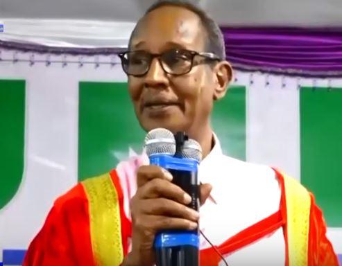 Borama: Daawo Ex-Madaxweyne Rayaale oo ka hadlay Jaamacadda Camuud