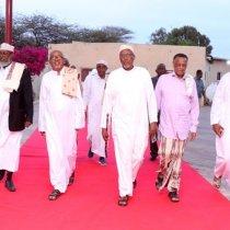 Hargeisa:-Madaxweynaha Somaliland Oo Kulan Afuro Iyo Casho Sharaf Ah U Sameeyey Culaamu'diinta Reer Somaliland.