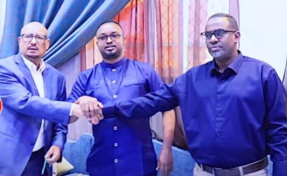 Daawo: Gudomiye Faysal Cali Waraabe iyo Wasiir Cabdilahi Abokor oo ka heshiiyey wixii dhex maray