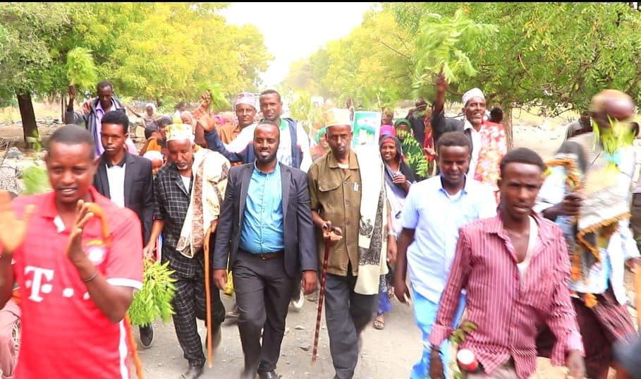 Daawo: Murashax Mustafe Magaalo oo Socdaal Kormeer iyo Wacyigeli ah ugu Baxay Degaanada Gubanka Gobolka Saaxil