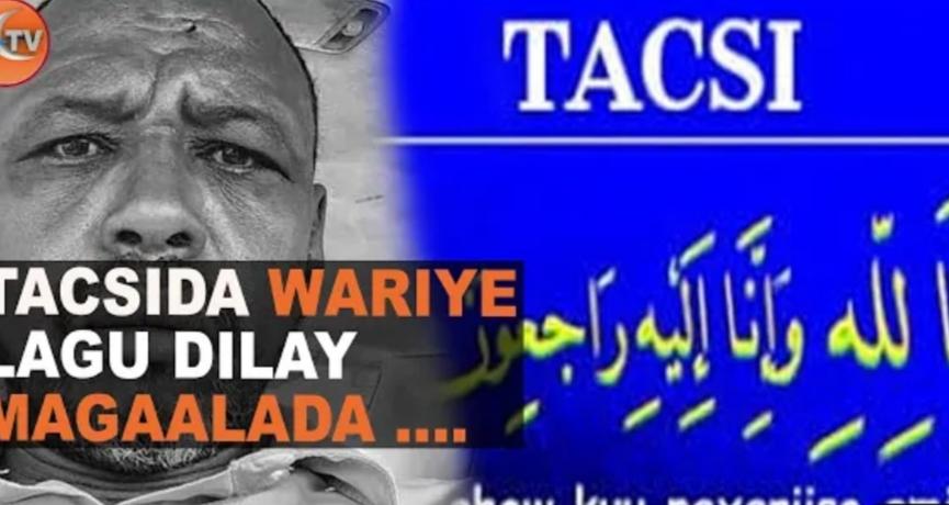 War Deg Deg Ah:-Weriye Lagu Toogtay Gaalkacayo Iyo Gudoomiyaha Ururka Saxafiyiinta Putland Oo Ka Hadlay Dilka.