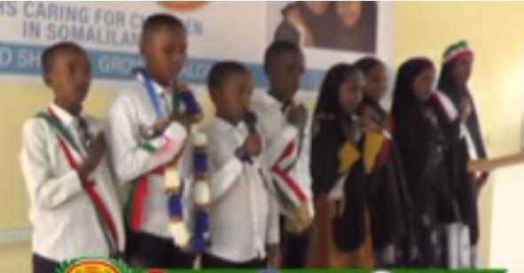 Hargeisa:-Madaxwayne Ku Xigeenka Somaliland Oo Ka Qayb Galay Munaasabad Lagu Soo Bandhigaayey Tayeynta Qoyska Oo Lagu Qabtay Magaalada Hargeisa.