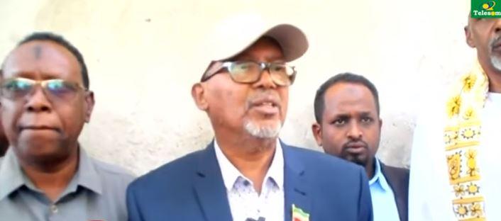 Borama:Daawo Madaxweyne kuxigenka Somaliland iyo Wasiiro ka tirsan Xukumadda oo ka qaybgalay Aasqaran oo ka dhacay Borama