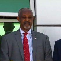 Hargaysa:Waftigii Uu Hogaaminayey Wasiirka Arimaha Gudaha Somaliland Maxamed Kaahin Axmed Ee Ku Maqnaa Waddanka Jabuuti Oo Dalka Dib Ugu Soo Laabtay.
