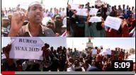 Burco Oo ay Ka Dhaceen Banaan-baxyo lagaga Soo Horjeedo Xukuumada Somaliland.