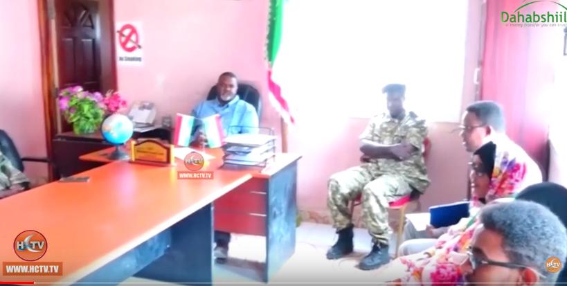 Gudaha:-Guddida Komishanka Xuquuqal Insaanka Somaliland oo Kulan La Qaatay Badhasaabka Sanaag+Arimaha Ay Ka Wada Hadleen.