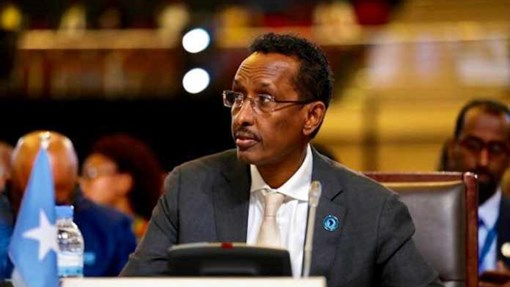 """Muqdisho:-""""Go'aanka aan qaadanay kuma xirna arinta Wariyaha la la'yahay""""Wasiirka Arimaha Dabada Somalia."""