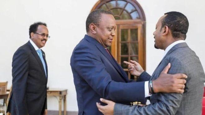 """Wargeyska The Standard: Soomaaliya waxay horseed ka tahay dalalka """"go'doomiyay"""" Kenya"""