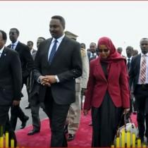 Madaxwaynaha Somaliya Oo Safar Ugu Baxay Caasimada Dalka Ethopia Oo Uu Ka Furmaayo Shirkii Midowga Africa