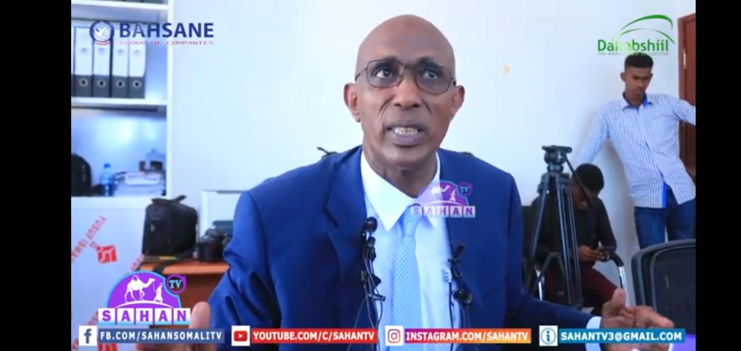 """Gudaha:-""""Kufsiga Cawo Yar Loogu Geystay Xarunta Agoomaha Masuuliyadeeda Waxa Qaadaya Masuuliyiinta Xarunta Agoomaha"""" Wasiirka Waxbarashada Somaliland."""