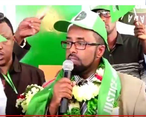 Hargaysa:-Musharaxa Madaxwayne Ku Xigeenka Ucid Oo Ka Waramay Kulamo Asxaabta Siyaasada Kenya La Qateen.