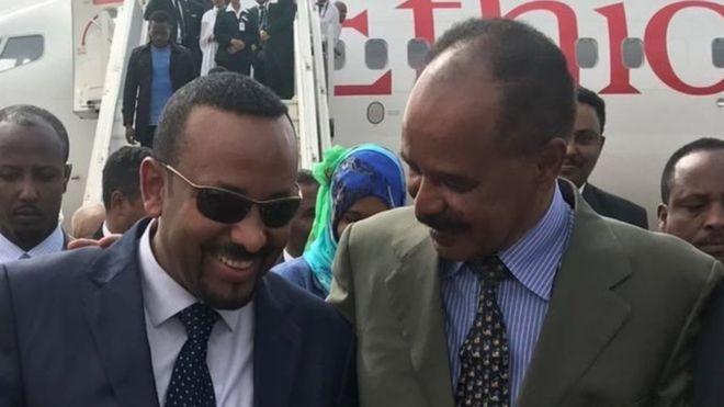 Asmaara:-Maxaa kasoo baxay kulankii hogaamiyeyaasha Eritrea iyo Itoobiya.