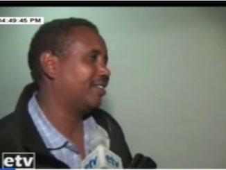 Madaxweynihii Ee Somalida Itoobiya Oo Markii Ugu Horeysay Jeelka Lagu Dhex Wareystay