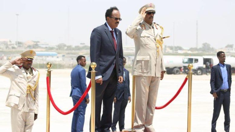 War Deg Deg Ah Madaxweyne Farmaajo Oo Maanta Safar Ugu Bixi Doona Dalka Sudan+U Jeedka Safarkiisa.