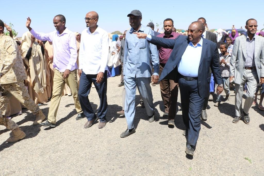 War Deg Deg Ah Qaban Qaabada Soo Dhawaynta Cabdiwali Gaas Oo Ka Socota Gobolka Badhan Iyo Moogananta Xukuumad Somaliland.