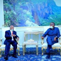 Madaxweynaha Somaliland Oo Kulan La Qaatay Wafdii Ka Socda Dalka Jabuuti.