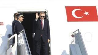 Madaxweyne Erdogan oo ku wajahan Mareykanka